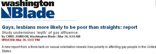 Those poor affluent gays
