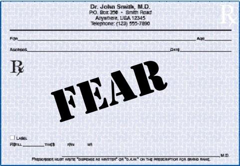 Fear:  FAIL