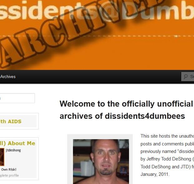 Back by popular demand:  dissidents4dumbees