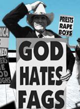 Westboro Baptist Church: whining for attention